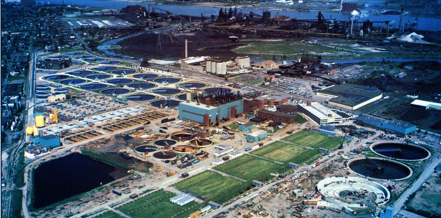 detroit wastewater infrastructure by HRC