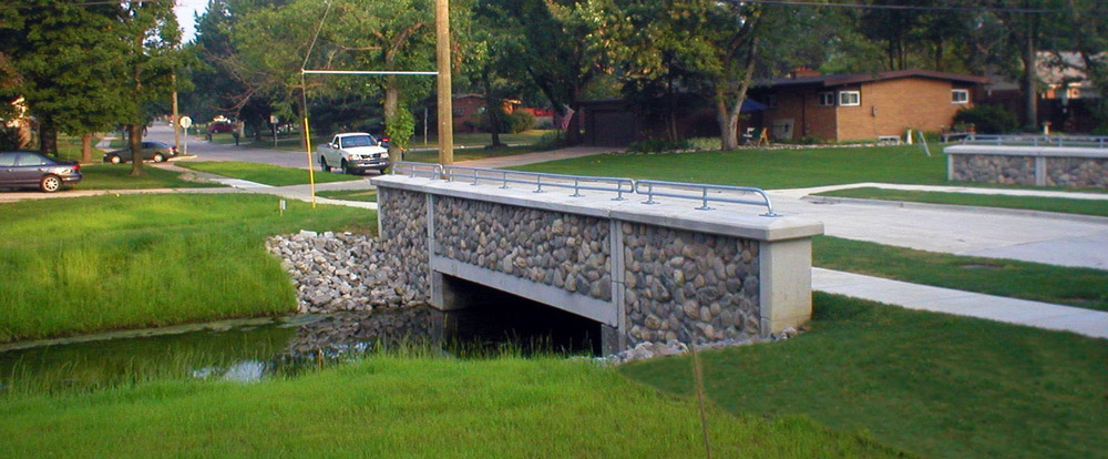 rummel drain bridge