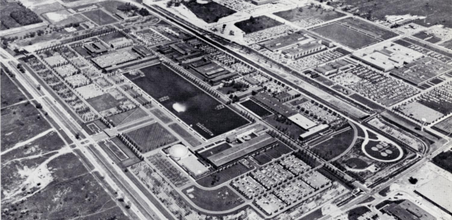 general motors technical center circa 1956