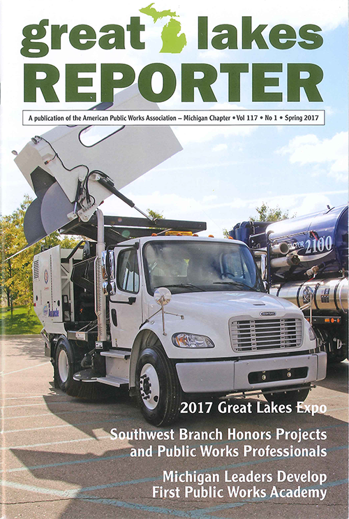 Spring 2017 APWA Great Lakes Reporter