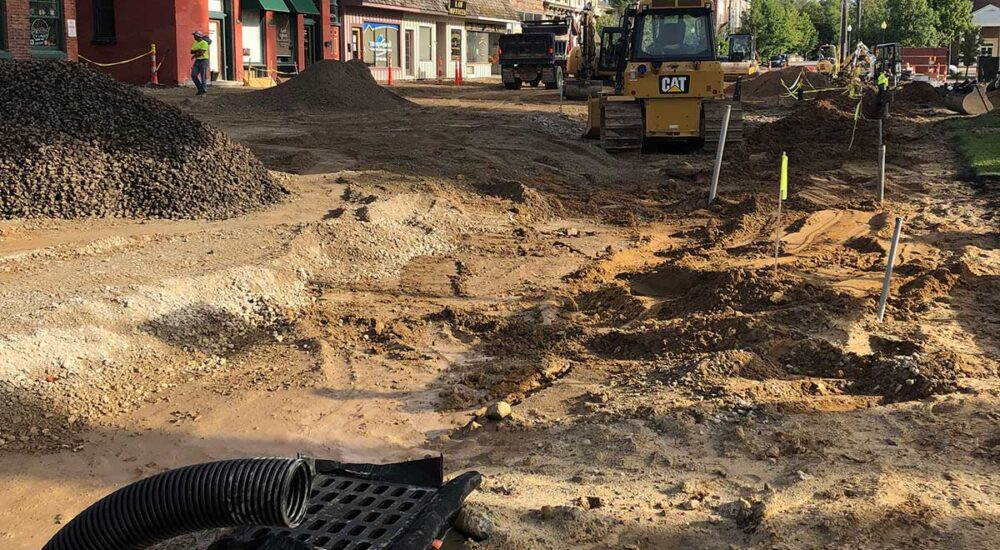 Howell state street repair